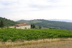 Chianti (Tuscany), old farmhouse Stock Photography