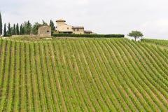 Chianti (Tuscany), old farmhouse Royalty Free Stock Photo
