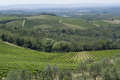 Chianti in Tuscany Stock Photo