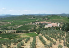 Chianti in Tuscany Royalty Free Stock Photos