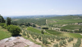 Chianti in Tuscany Stock Photos