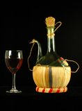 Chianti Wine Reed Decanter Royalty Free Stock Images