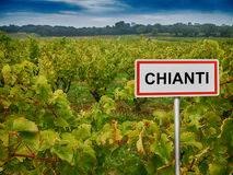 Chianti wine region of Tuscany, Italy Royalty Free Stock Photo