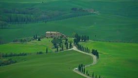 Chianti wzgórza w Tuscany zdjęcie wideo