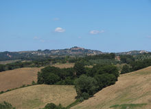 Chiantishire hills landscape Stock Photography