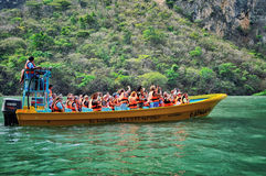 Chiapas kanjon i Mexico Royaltyfria Bilder