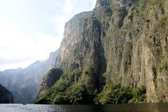 Chiapas Meksyk Sumidero jar zdjęcie royalty free
