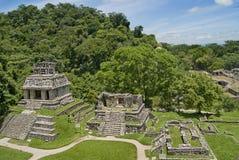 Chiapas Palenque στοκ φωτογραφία