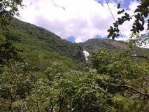 Chiapas, waterval van chiflà ³ n stock afbeelding