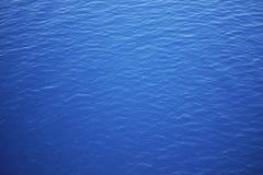 Chiara acqua blu Fotografia Stock