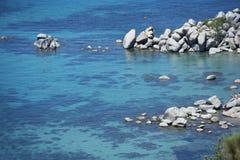 Chiara acqua del lago fotografia stock libera da diritti
