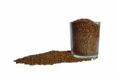 Chiara ciotola con grano saraceno Fotografia Stock
