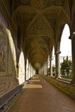 chiara cloister santa Royaltyfri Bild
