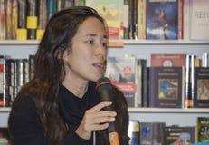 Chiara gamberale intervied Stock Photo