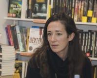 Chiara gamberale italian writer Royalty Free Stock Image