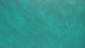 Chiara riflessione dell'acqua dell'oceano Fotografia Stock