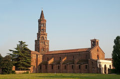 The Chiaravalle Abbey, Italy Stock Photos