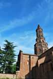 Chiaravalle abbey in Milan, Italy Royalty Free Stock Images