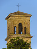 Chiaravalle bell tower Royalty Free Stock Photography