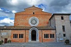 Chiaravalle di Fiastra Аббатство Стоковая Фотография