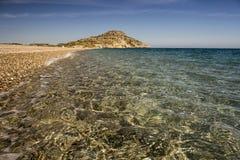 Chiarezza di cristallo del mar Mediterraneo Fotografia Stock Libera da Diritti