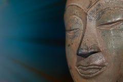 Chiarimento spirituale e consapevolezza Meditati conscio di Buddha Immagine Stock
