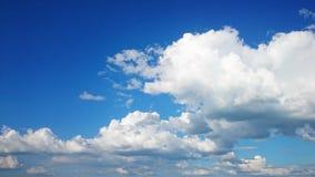 Chiaro cielo blu Fotografie Stock Libere da Diritti