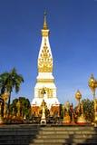 Chiaro cielo Chedi Phra che Phanom Fotografia Stock Libera da Diritti