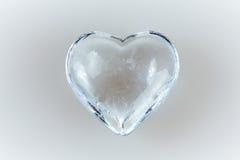 Chiaro cuore del diamante Fotografia Stock