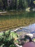 Chiaro lago Fotografia Stock