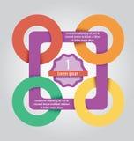 Chiaro modello Può essere usato per il infographics, elementi dei siti Web, illustrazione vettoriale