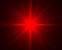 Chiarore rosso Fotografie Stock Libere da Diritti