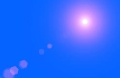 Chiarore solare della lente Illustrazione Vettoriale