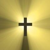 Chiarore trasversale santo dell'indicatore luminoso del sole Immagine Stock Libera da Diritti