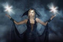 Chiarori di magia immagini stock libere da diritti