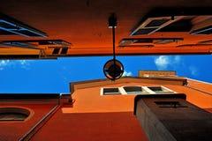 Chiavari architektury element fotografia royalty free