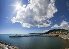 Chiavari, Liguria, Italy Royalty Free Stock Photography