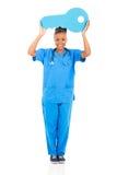 Chiave africana dell'infermiere fotografia stock