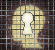 Chiave creativa di libertà Immagini Stock Libere da Diritti