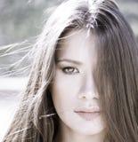 Chiave del ritratto di bellezza alta Fotografie Stock Libere da Diritti
