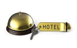 Chiave dell'hotel Immagini Stock