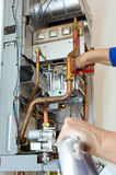Chiave dell'idraulico Immagine Stock Libera da Diritti