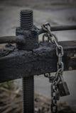 Chiave della fossa di irrigazione Fotografie Stock Libere da Diritti