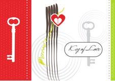 Chiave di amore royalty illustrazione gratis