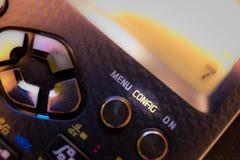 Chiave di configurazione di config della tastiera di un calcolatore scientifico fotografia stock libera da diritti