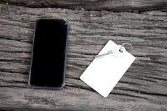 Chiave, keycard e telefono della Camera Fotografia Stock