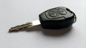 Chiave multifunzionale dell'automobile fotografia stock