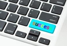 Chiave a successo (concetto di successo di affari) Fotografia Stock Libera da Diritti