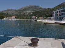Chiave sulla costa della Croazia l'Adriatico Fotografia Stock
