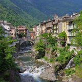 Chiavenna Royalty Free Stock Images
